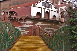 Vigan - Hotel Luna 3d mural Rene Robles