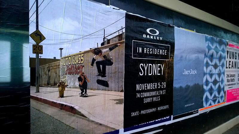 Plakatwand_Sydney