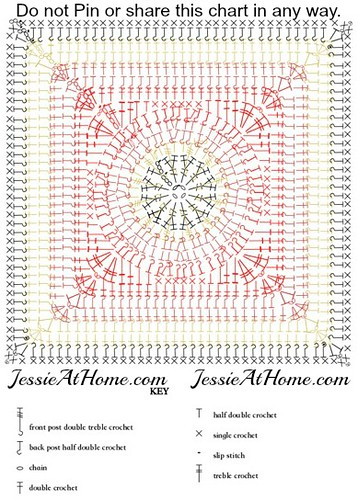 Flame-Square-free-crochet-pattern-by-Jessie-At-Home-chart