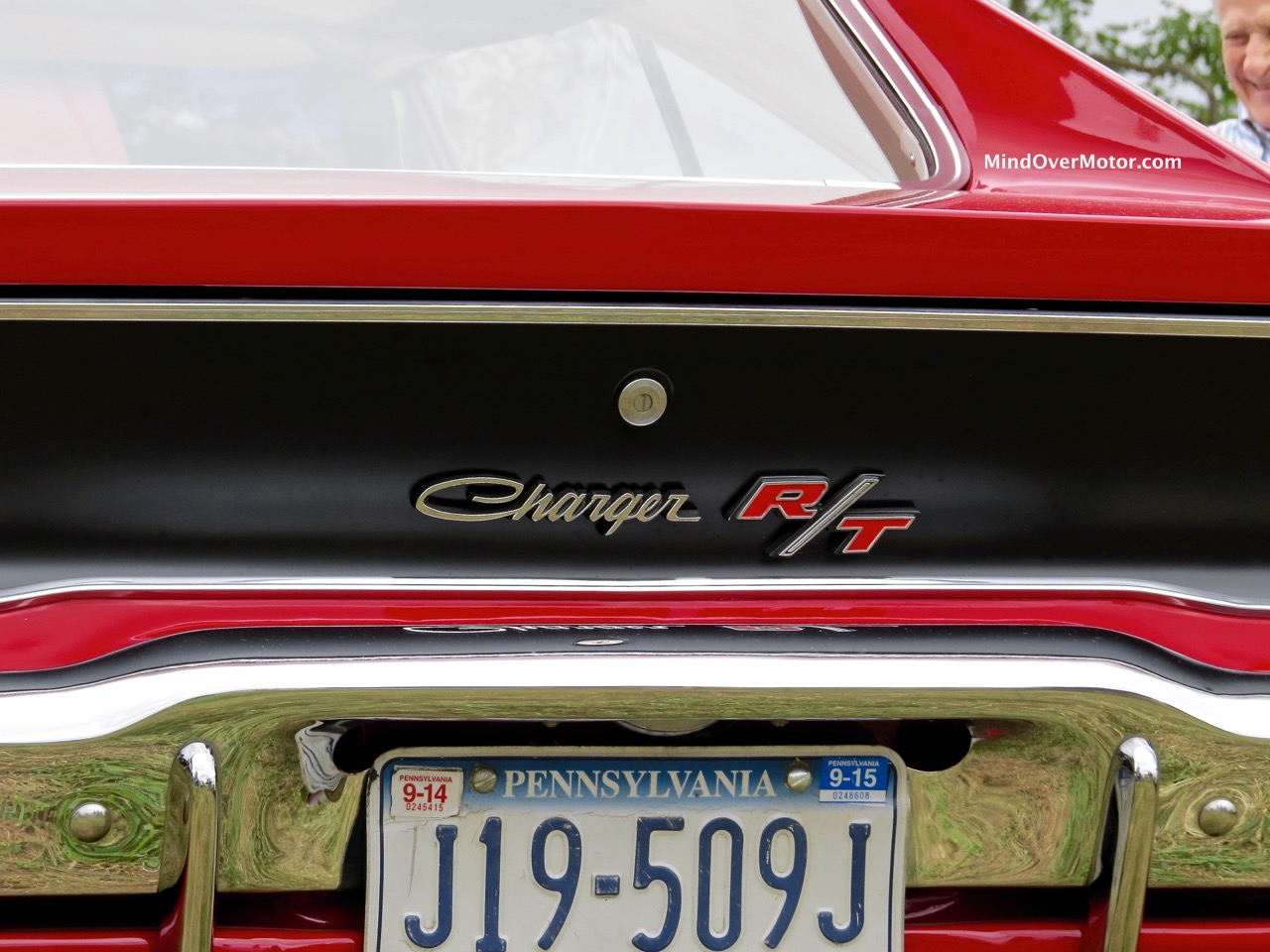 1968 Dodge Charger R:T Rear Finish Panel