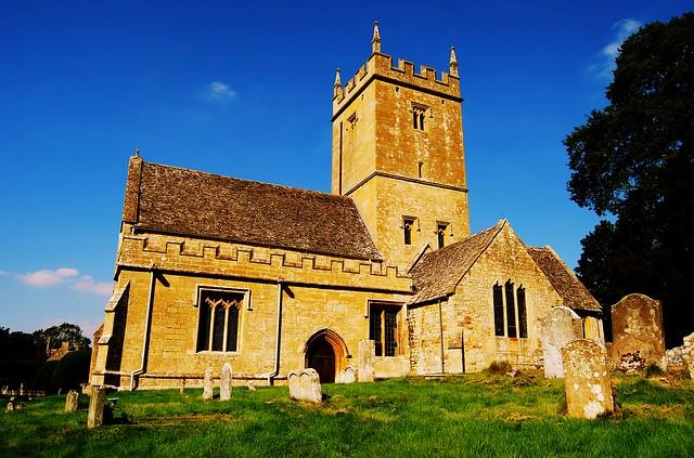 St Eadburgha's Church, Broadway, Worcestershire, England