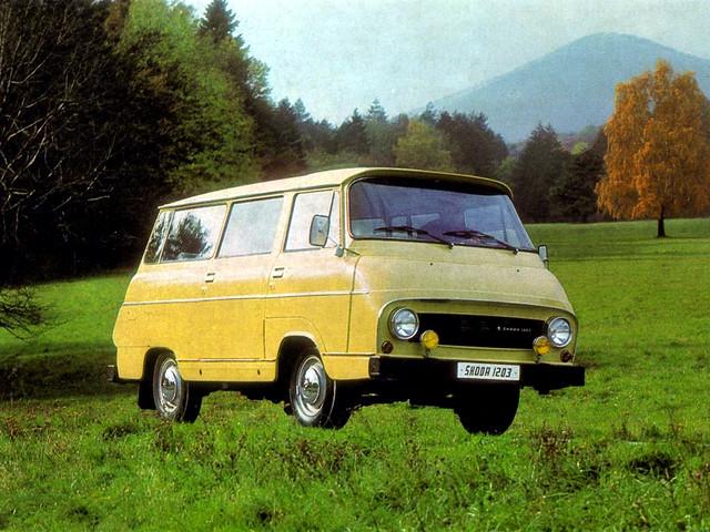 Минивэн Skoda 1203 Minibus (кузов Type 997). 1968 год