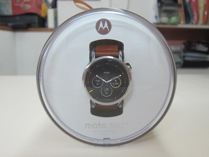 Moto 360 (2nd Gen) - Box Front