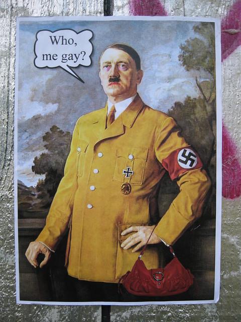 Gay Hitler_Southampton_Mountbatten Way