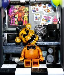 Lego Golden Freddy