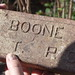 Boone B.T.P. Co. Brick