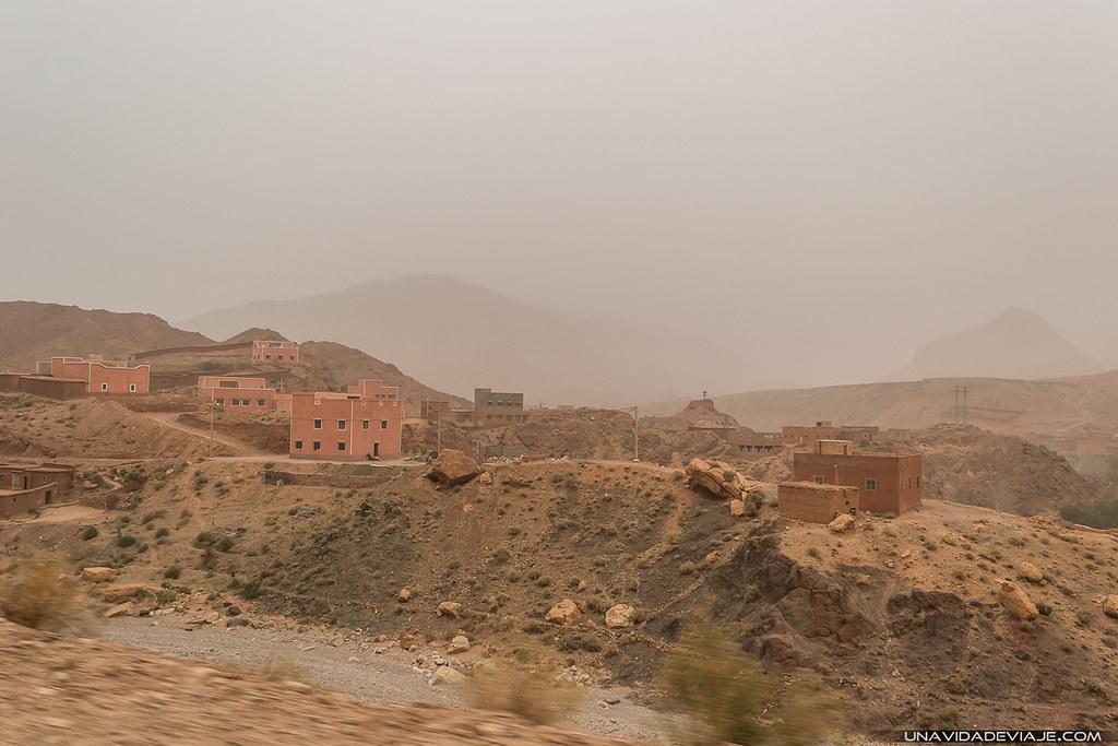 Marruecos sur Gargantas Dades