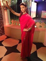 Aishwarya Rai Bachchan figure at Madame Tussauds London