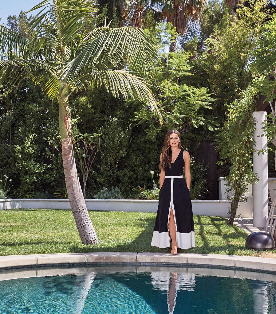 Лиа Мишель — Фотосессия для «InStyle Home & Design» 2016 – 1