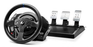 Photo:Thrustmaster intros T300RS GT Edition racing wheel for PlayStation gamers By:chargoodell68