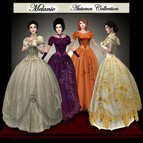 Melanie Civil War Ball Gowns