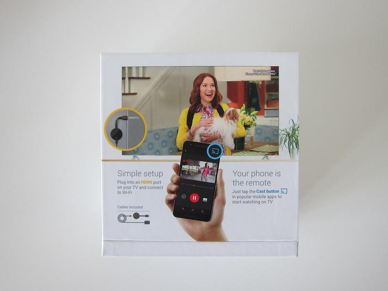 Google Chromecast Ultra - Box Back