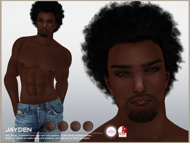 [DBF] Jayden skin TheMeshProject head body installers
