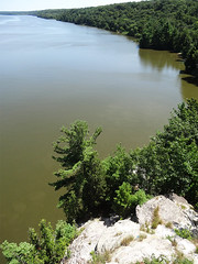 Illinois River at Starved Rock State Park