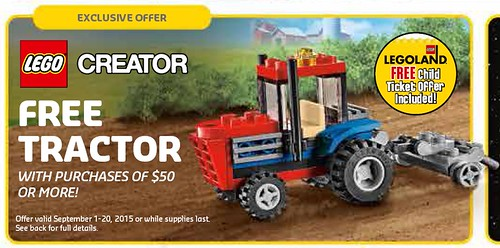 LEGO Creator Tractor 30284