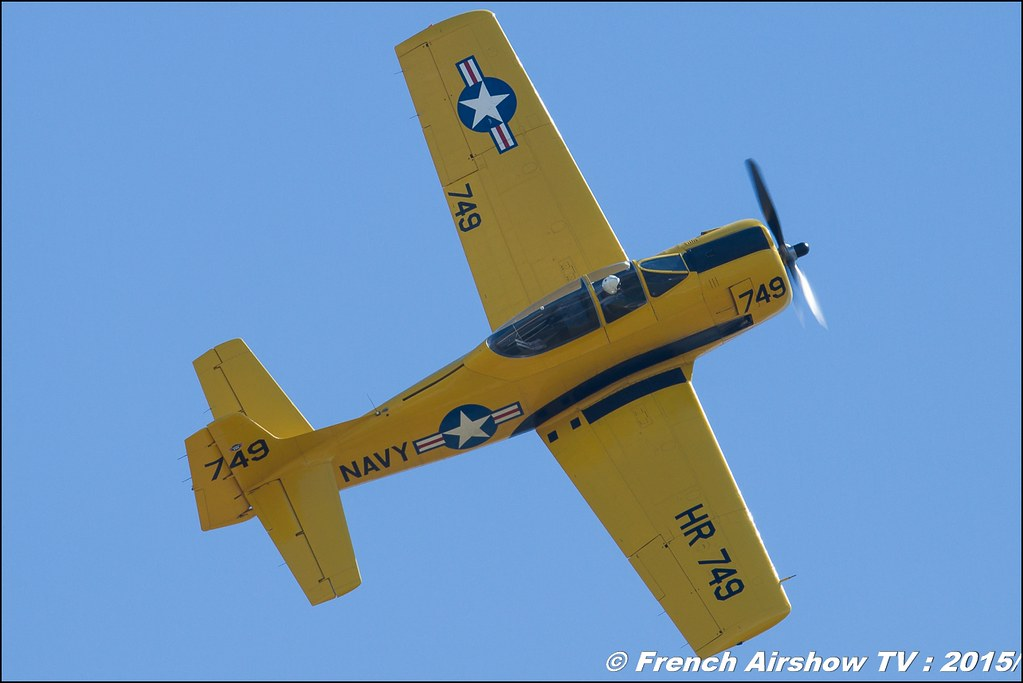 T-28 Trojan , Aerofox, F-AZHR, Warbird, WAC 2015 Chateauroux, 28th FAI World Aerobatic Championships Châteauroux 2015 , Championnats du Monde de Voltige Aerienne 2015, Meeting Aerien 2015