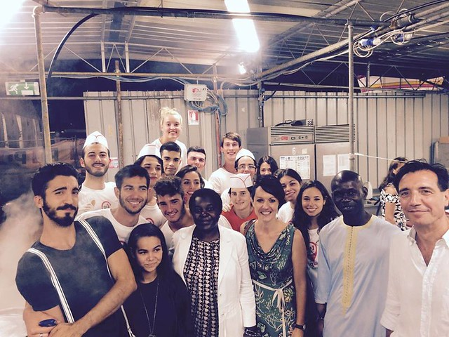 04.09.15 Con Cecile Kyenge alla Festa Unità Ravenna
