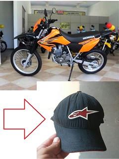 moto furtada