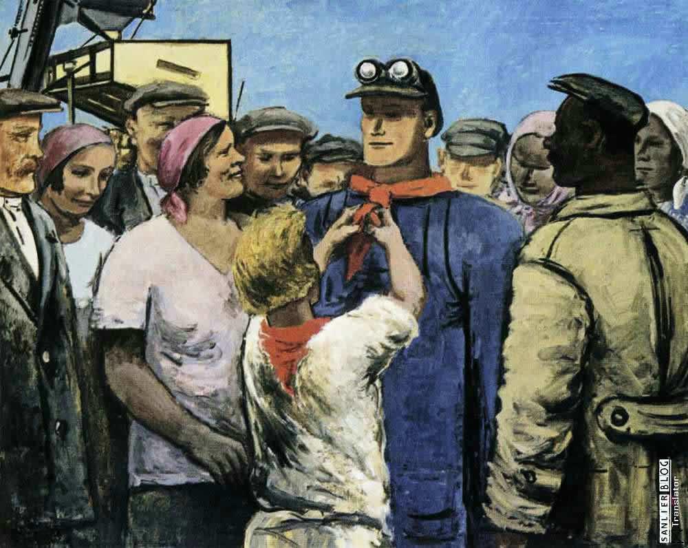 苏联20、30年代各类宣传画07