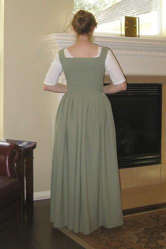 Early 17th Century Petticoat - Back