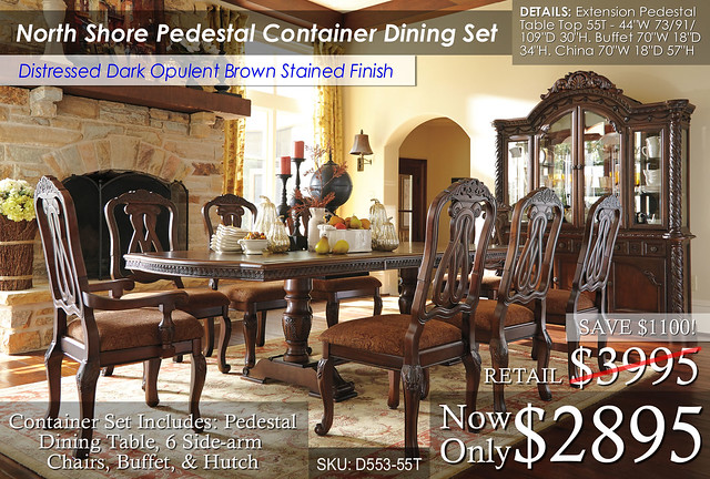North Shore Pedestal Dining Container