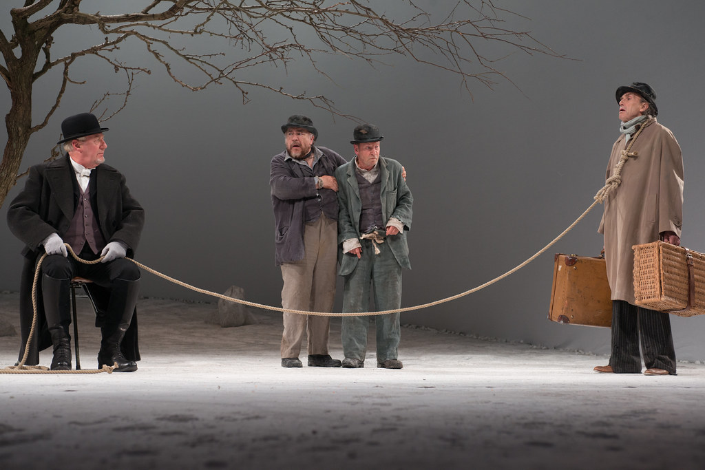 Waiting For Godot  The Lyceum  Royal Lyceum Theatre Edinburgh  John Bett Brian Cox Bill Paterson  Benny Young  Persuasive Essay Samples High School also Academic Writing Assistance Agencies In Uk  University English Essay