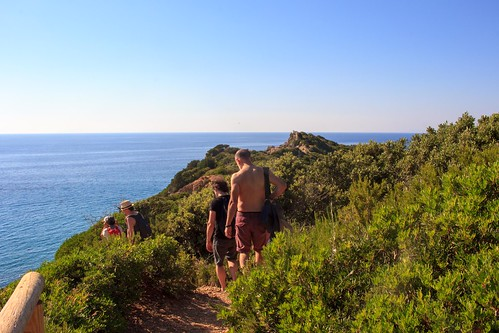 A simple hiking in Giglio Island