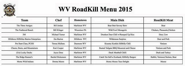 Roadkill Cookoff