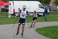 Dušan Kožíšek soupeřil na kole se Synkem, teď už se plně soustředí na lyžařské sprinty