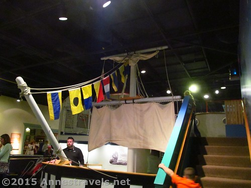 A play ship in the Kid to Kid area of the Strong Museum, Rochester, New York