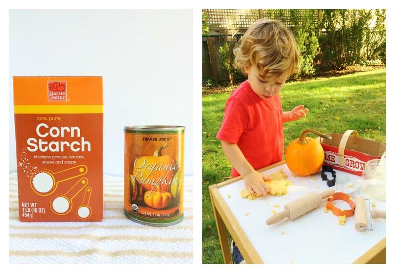 Pumpkin Play Dough Play