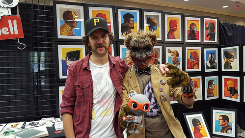 "MondoCon 2015 :: Tokka - ""FEAR BEAR"" meets MIKE MITCHELL"