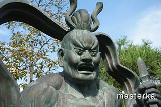 秩父札所2番の銅像