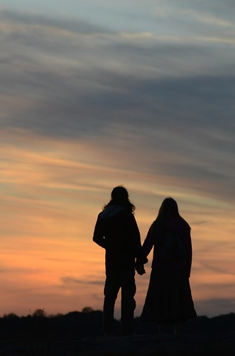 sunset people woman man silhouette couple sundog arabiamountain dekalbcountyga lithoniaga arabiamountainnationalheritagearea
