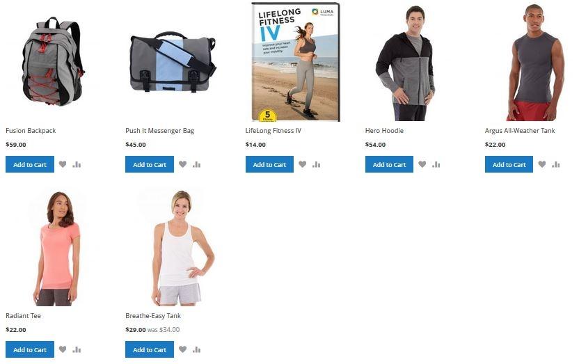 Hiển thị sản phẩm trên trang chủ trong Magento 2