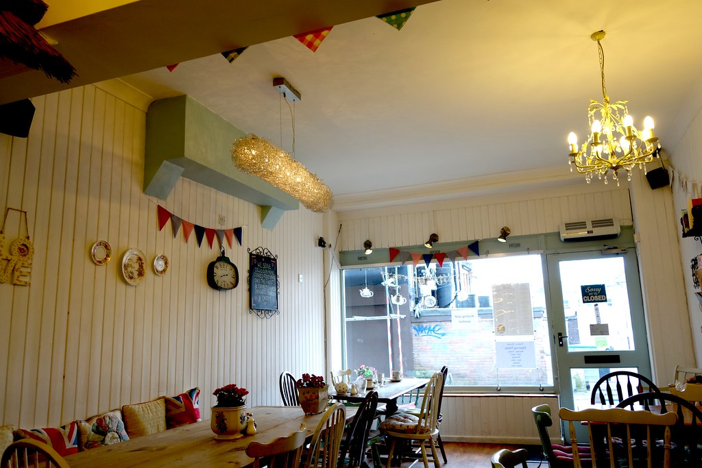 Frieda's Tearoom, #Bloggerlodge, Bournemouth