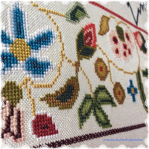 Cross Stitch Band