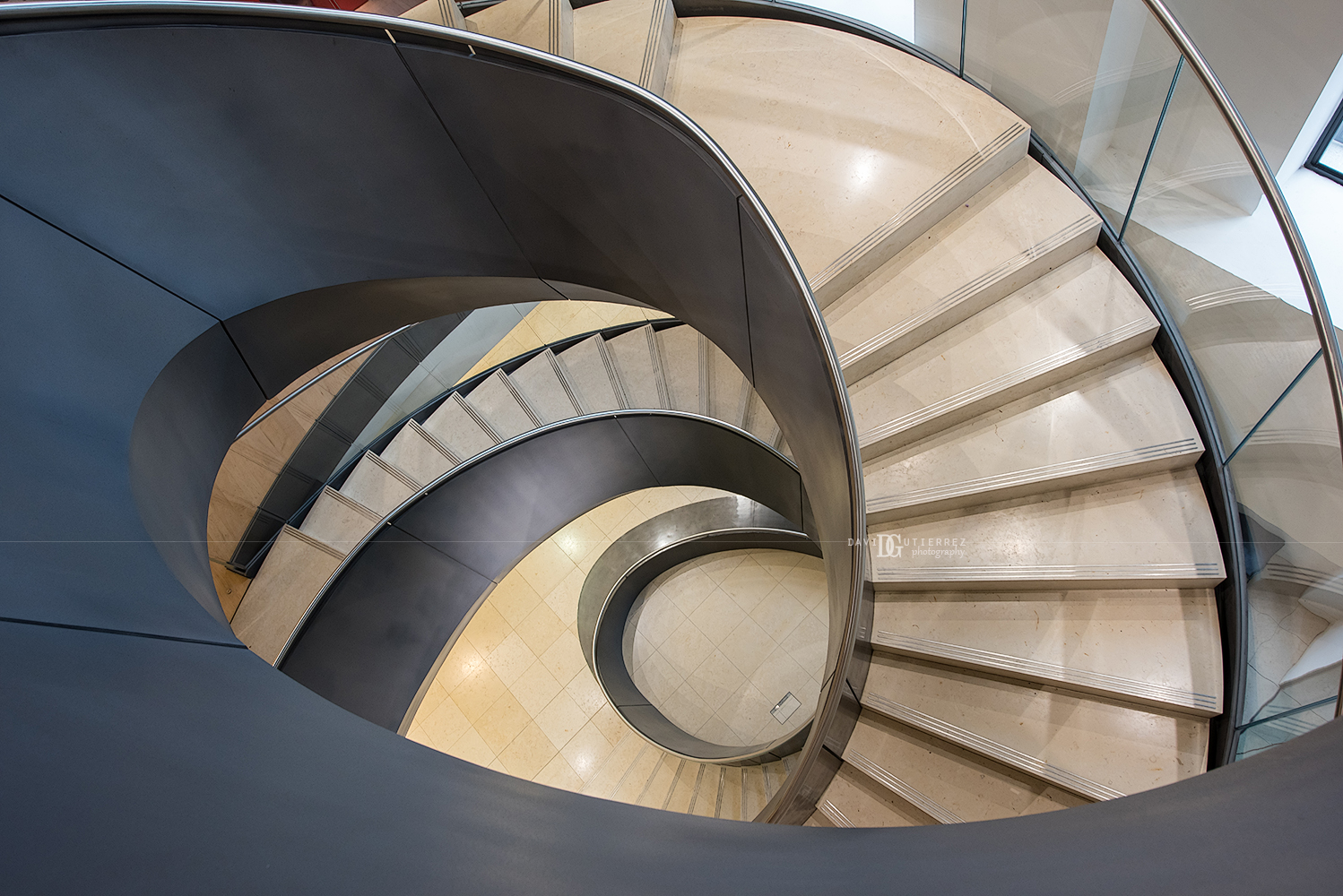 """Wellcome Collection's staircase"" London, UK by David Gutierrez Photography, London Photographer"