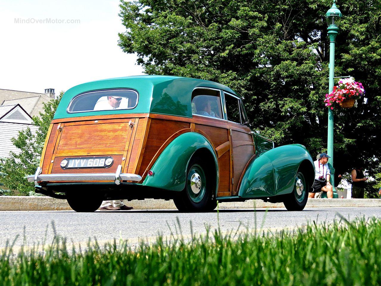 Bentley Mk6 Woody at Hershey 2