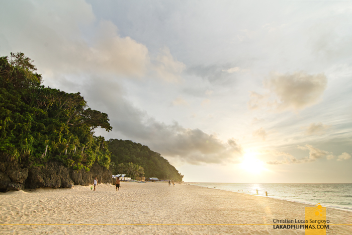 Puka Beach Sunset Boracay