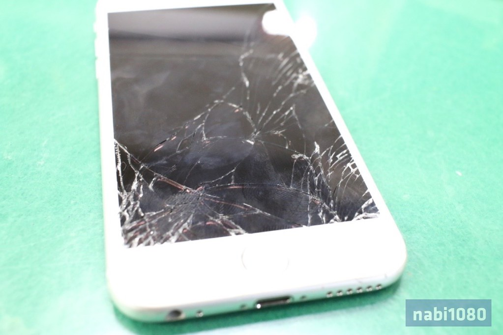 iPhone 6画面割れ01