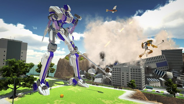 100ft Robot Golf, Image 01