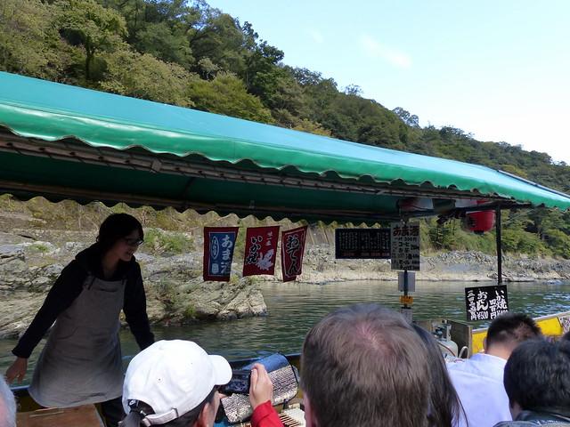 Snack boat