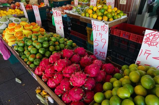 三峡の美味しそうな果物