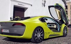 Etos, l'auto con il drone incorporato