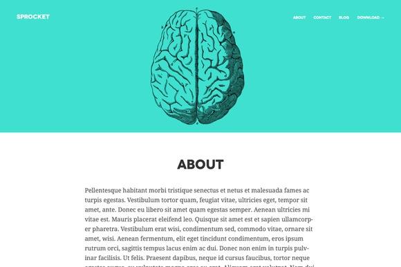 Creativemarket Sprocket v1.0 - Responsive WordPress Theme