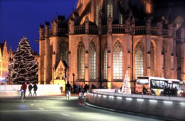Wintertijd 2015 in Leuven