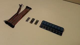 koukku kytkin Arduino