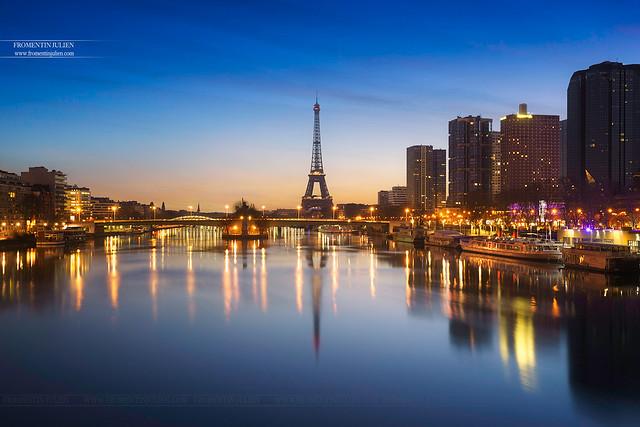 Tour Eiffel & Pont de Grenelle, Paris