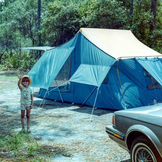 #tbt  Camping on Hunting Island in the 80s